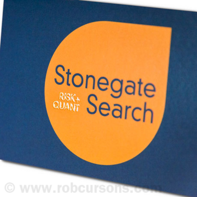 Work | Design | Stonegate Search Embossing